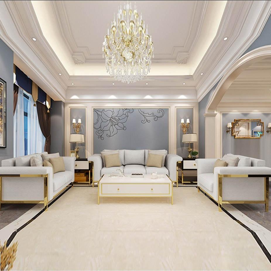 【欧瑞家具】 现代轻奢简约布艺单双三人位沙发组合整装 大户型客厅沙发1+2+3