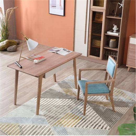 【安琦美居】桌子ins风电脑桌书桌简易办公桌家用学生写字桌卧室腿化妆桌书桌